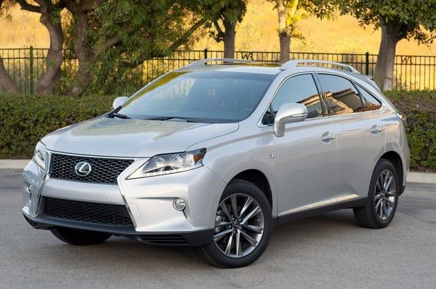 Lexus rx 350 review 2013