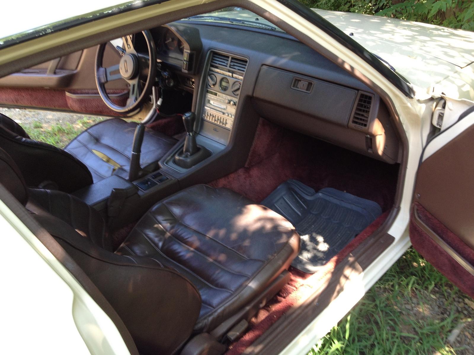 1984 Mazda Rx-7 - Interior Pictures