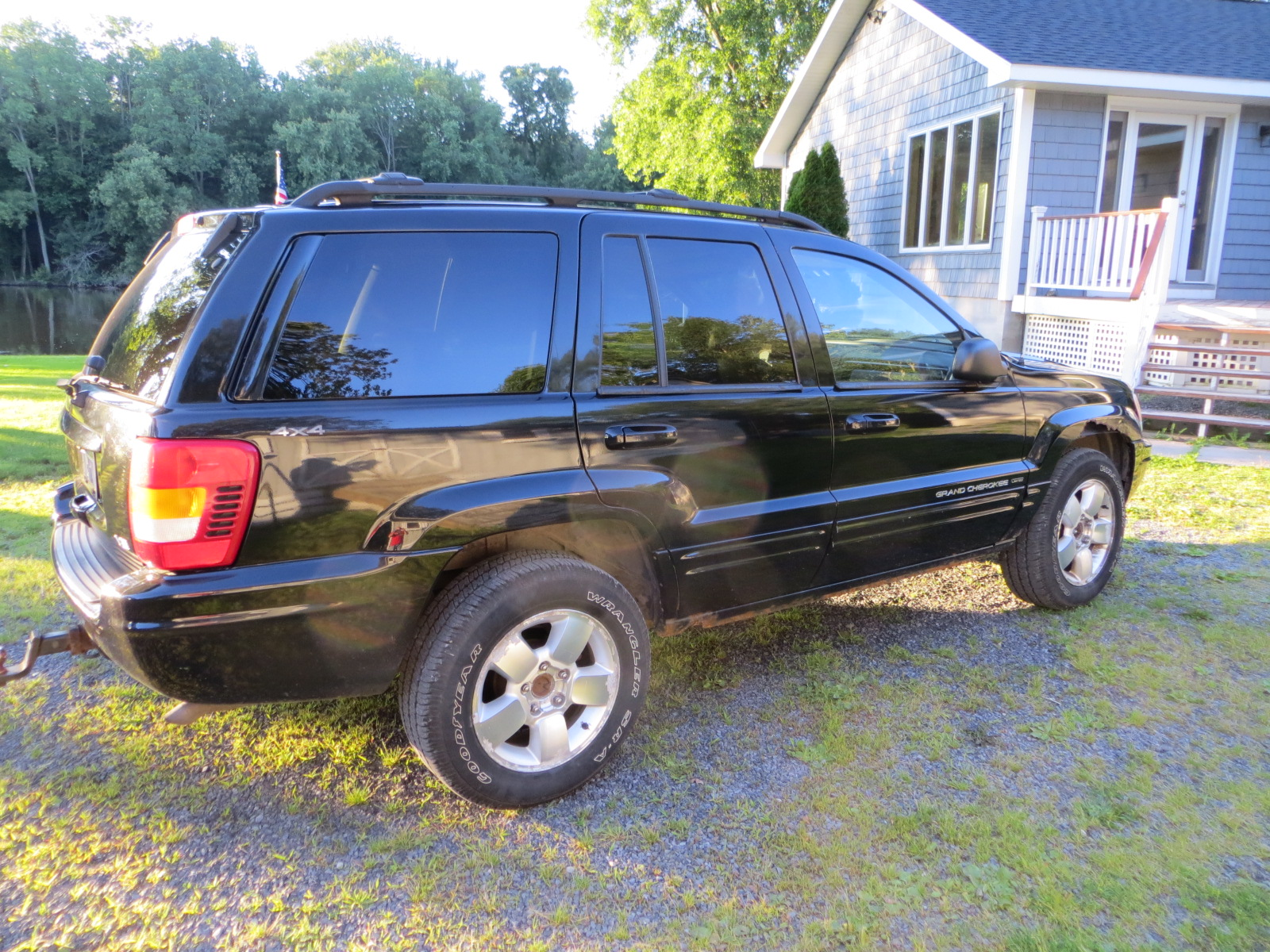 picture of 2001 jeep grand cherokee limited 4wd exterior. Black Bedroom Furniture Sets. Home Design Ideas
