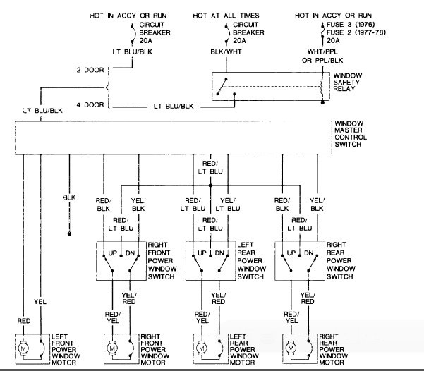 cadillac power window relay wiring diagram vehicle wiring diagrams rh eklablog co