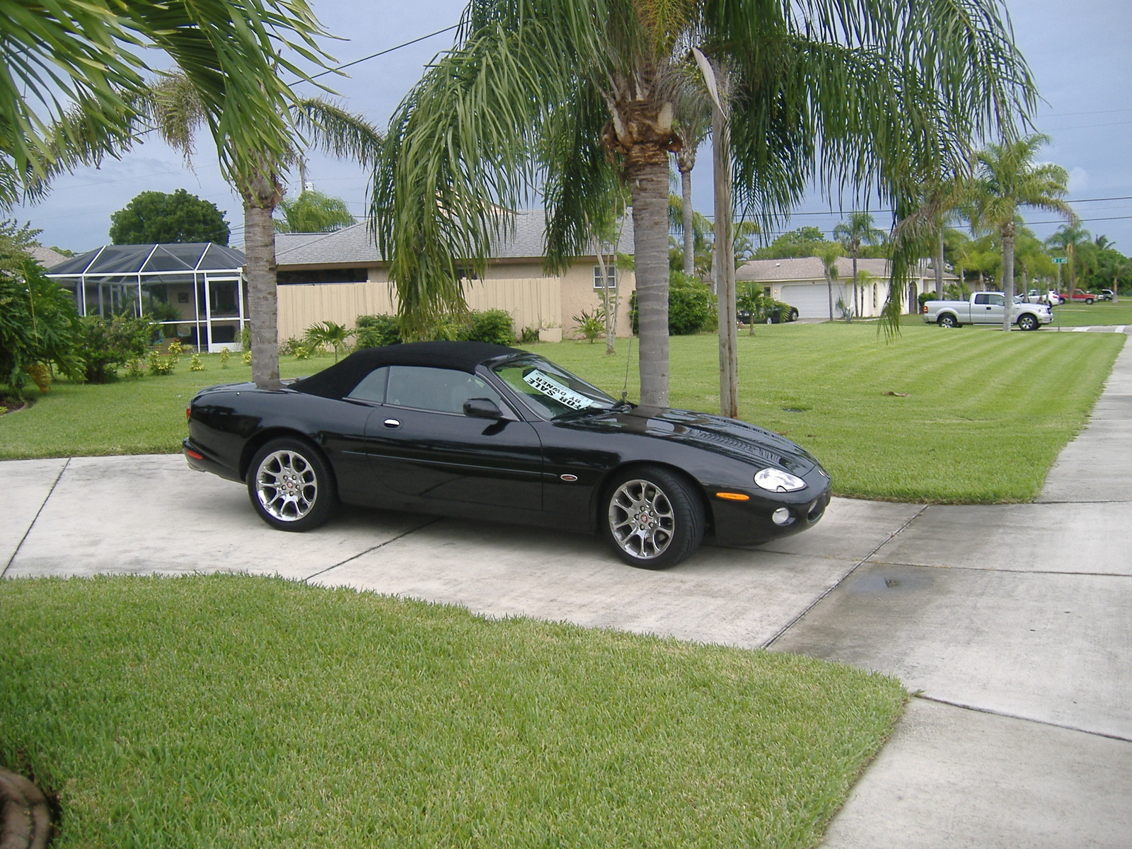 picture of 2002 jaguar xk series xkr convertible exterior