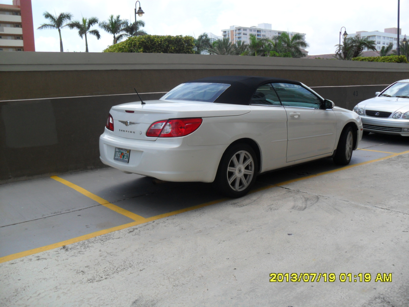 2008 chrysler sebring touring convertible picture exterior. Cars Review. Best American Auto & Cars Review