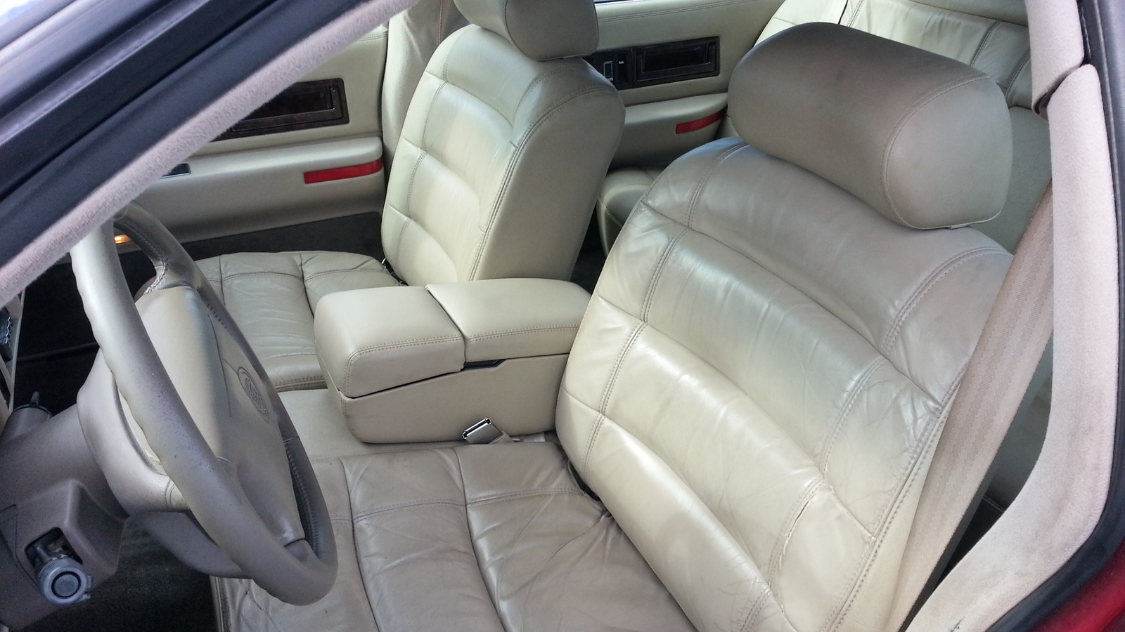 Picture of 1995 Cadillac Fleetwood Base Sedan, interior