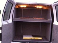 2007 Ford E Series Cargo 150 Inside Racking System Interior
