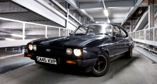 1981 Ford Capri, Not my Capri. But looks like it :), exterior