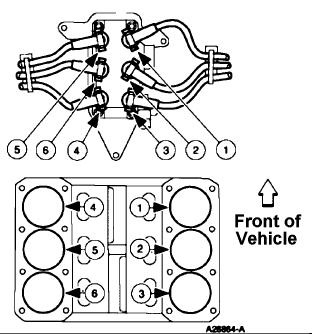 ford 2005 4 2 spark plug wire diagram  u2022 wiring diagram for