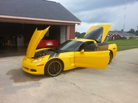 2005 Chevrolet Corvette Coupe, Picture of 2005 Chevrolet Corvette Base, exterior, engine
