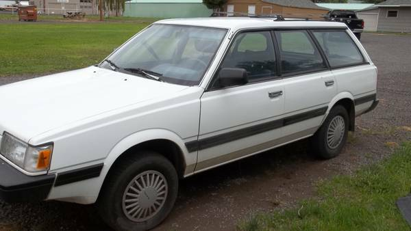 1991 Subaru Loyale 4 Dr STD 4WD Wagon picture