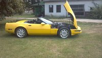 Picture of 1991 Chevrolet Corvette Convertible, exterior, engine