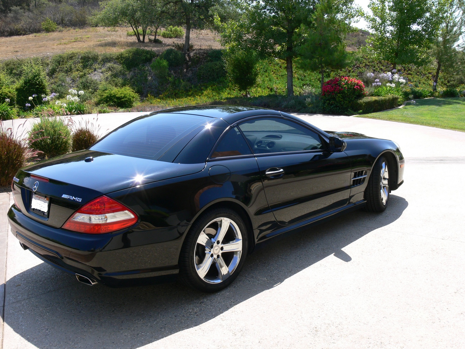 Picture of 2009 mercedes benz sl class sl550 roadster for 2009 mercedes benz roadster