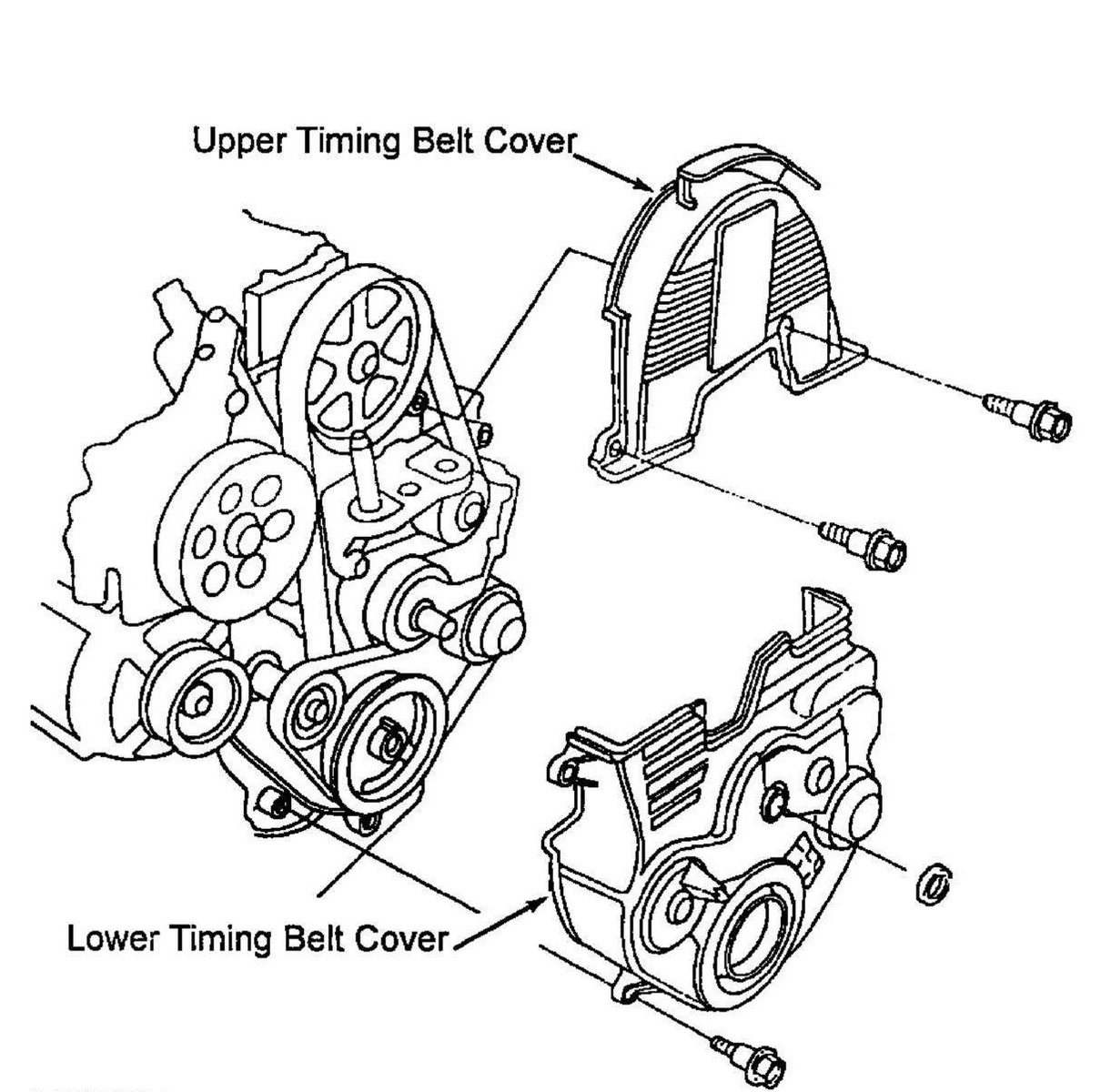 honda passport questions how do i replace water pump and timing rh cargurus com Honda Ridgeline Engine Diagram 2000 Honda CR-V Engine Diagram