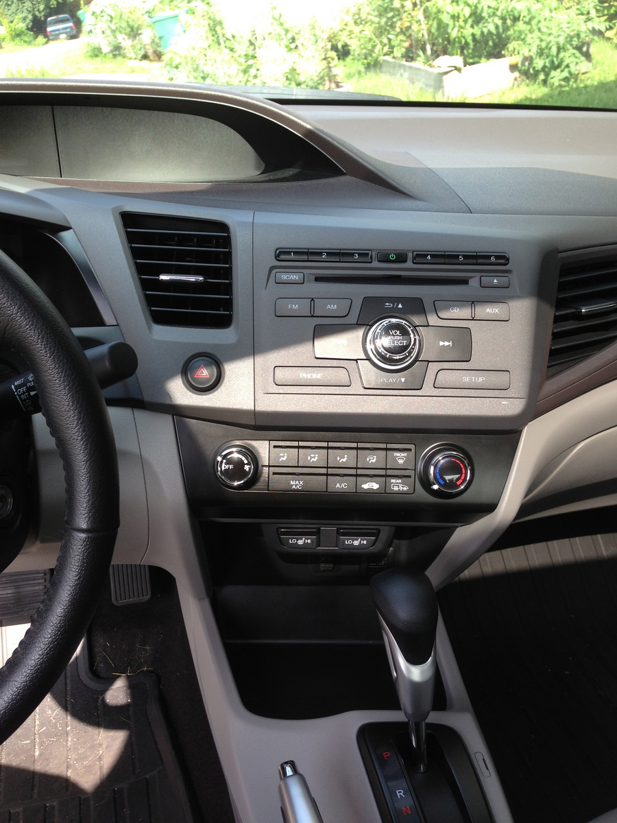 Picture of 2012 Honda Civic EX-L, interior