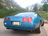 1992 Chevrolet Corvette Coupe, 1992 Chevrolet Corvette Base picture, exterior