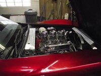 Picture of 1972 Chevrolet Corvette Convertible, engine