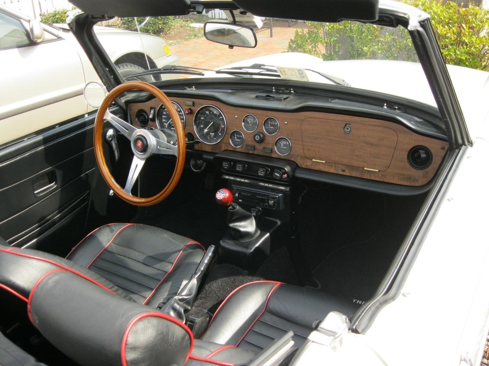 1976 Triumph Tr6 Interior Pictures Cargurus