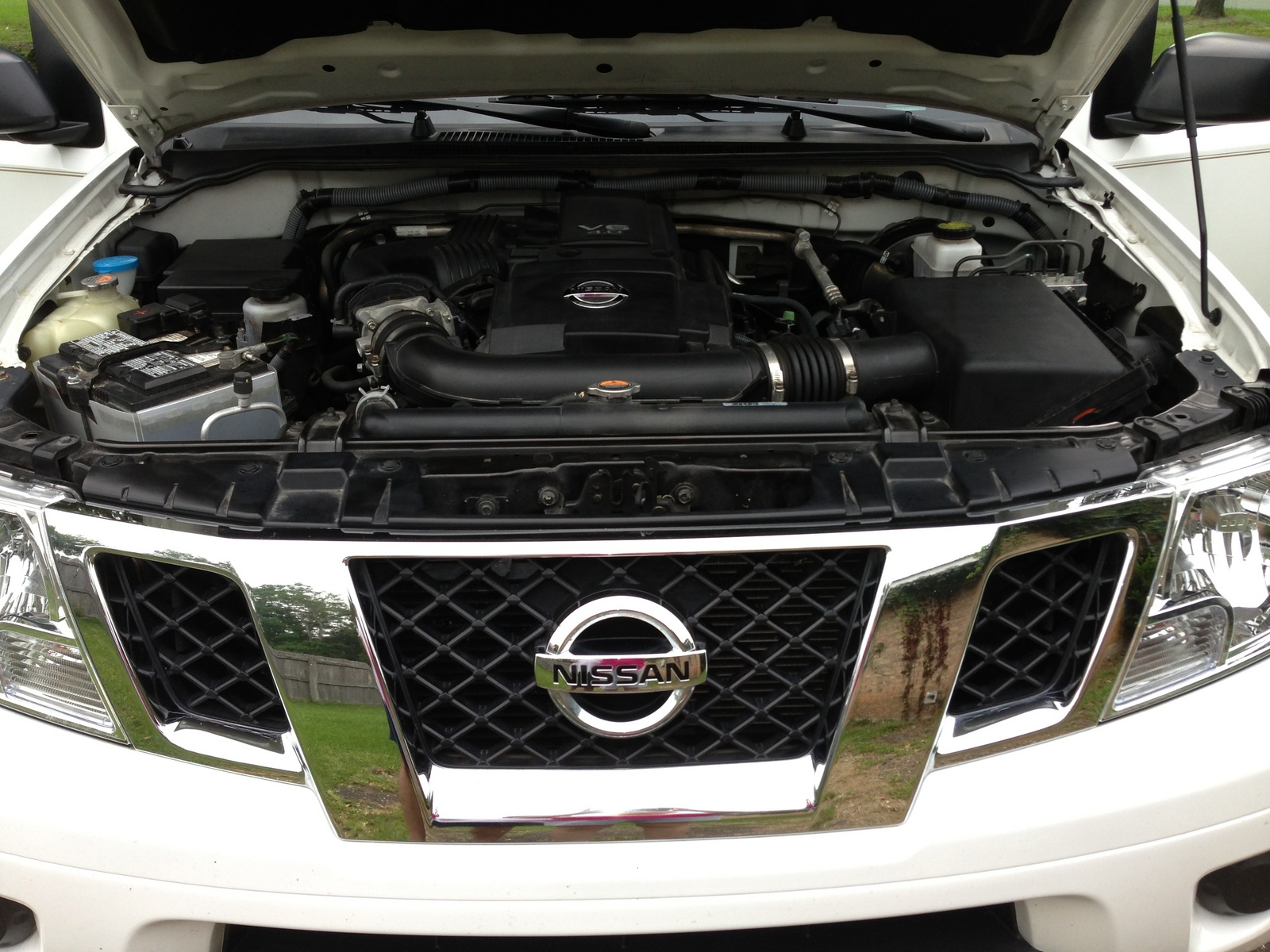 Picture of 2012 Nissan Frontier SV V6 King Cab, engine