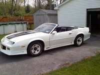 1991 Chevrolet Camaro RS Convertible picture, exterior