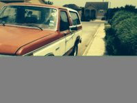 1984 Ford Bronco STD 4WD, driver's side, exterior
