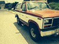 1984 Ford Bronco STD 4WD, passenger side, exterior