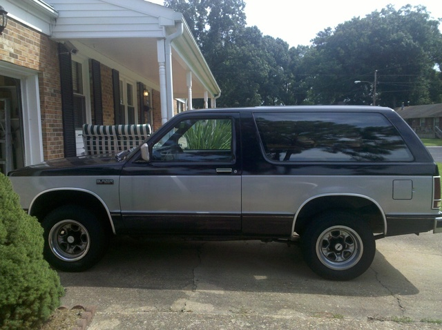 1984 chevrolet blazer - overview