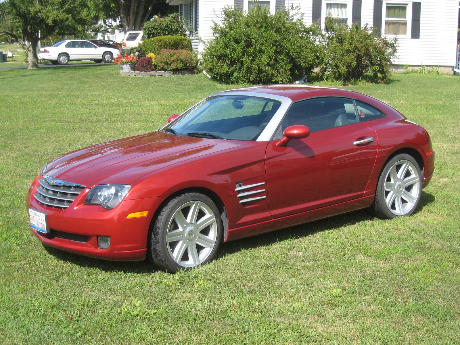 picture of 2004 chrysler crossfire base exterior. Cars Review. Best American Auto & Cars Review