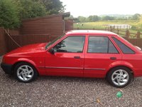 Picture of 1990 Ford Escort 4 Dr LX Hatchback, exterior, gallery_worthy