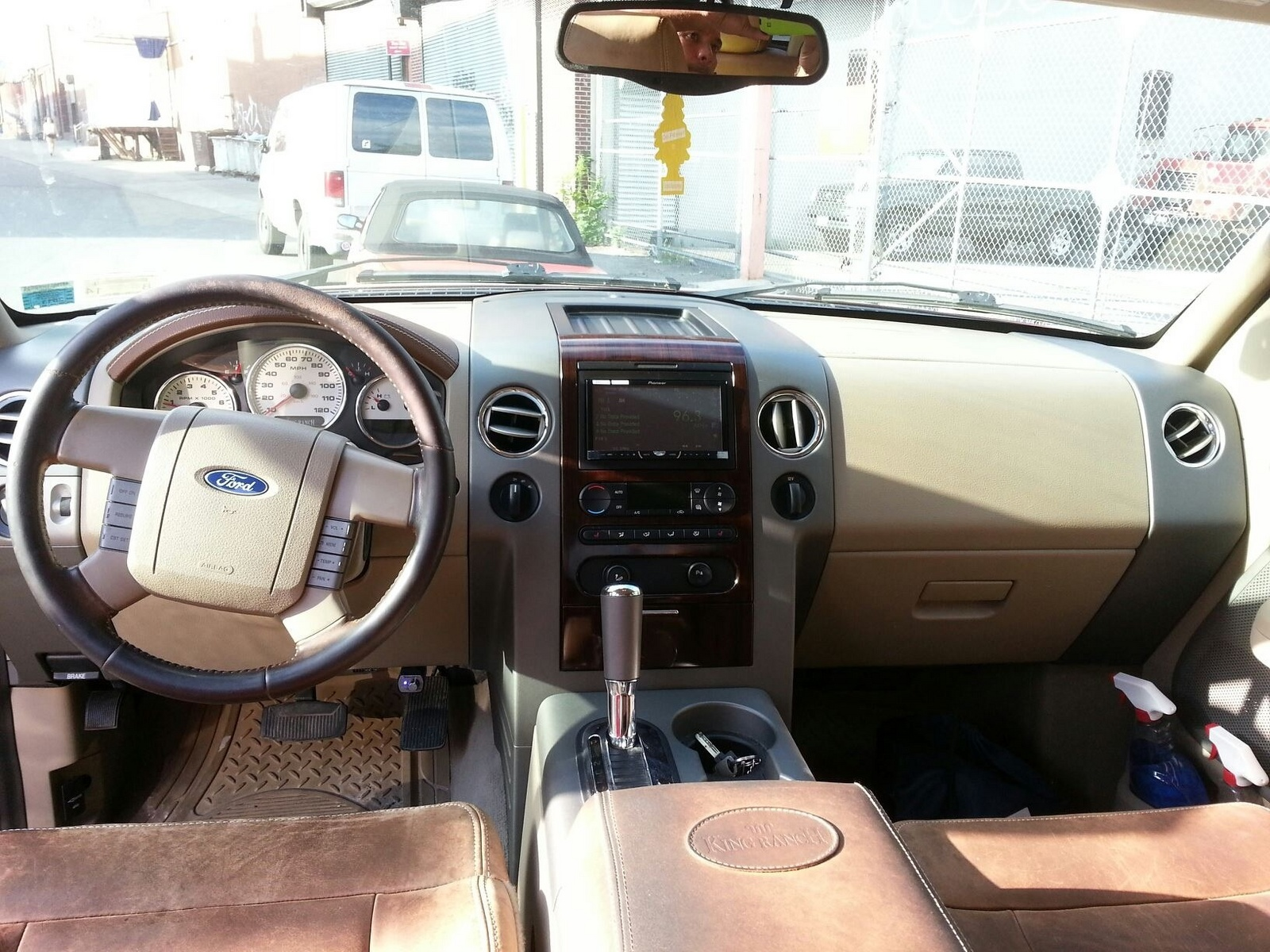 Ford F150 King Ranch Interior