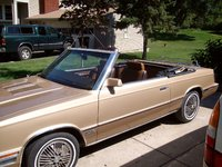 Picture of 1984 Chrysler Le Baron Mark Cross Convertible, exterior