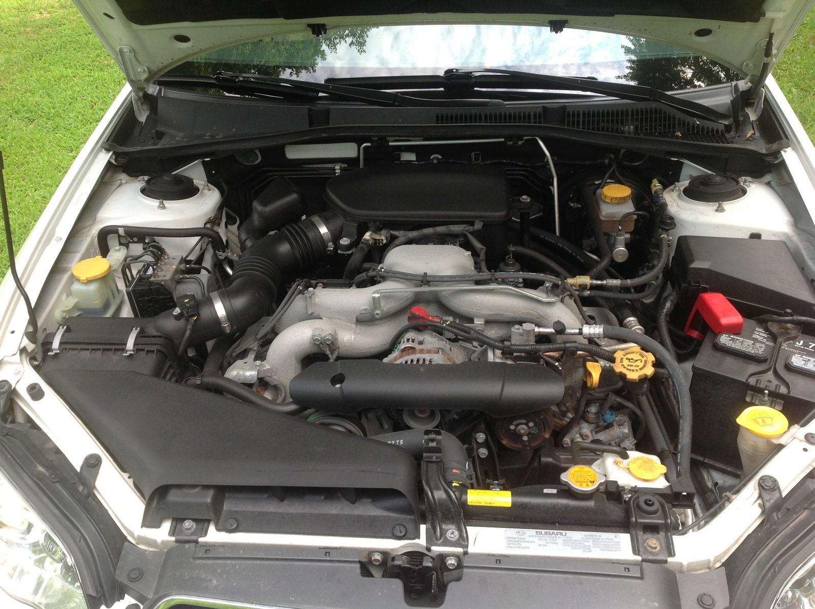 2009 Subaru Legacy 2.5 i Special Edition picture, engine