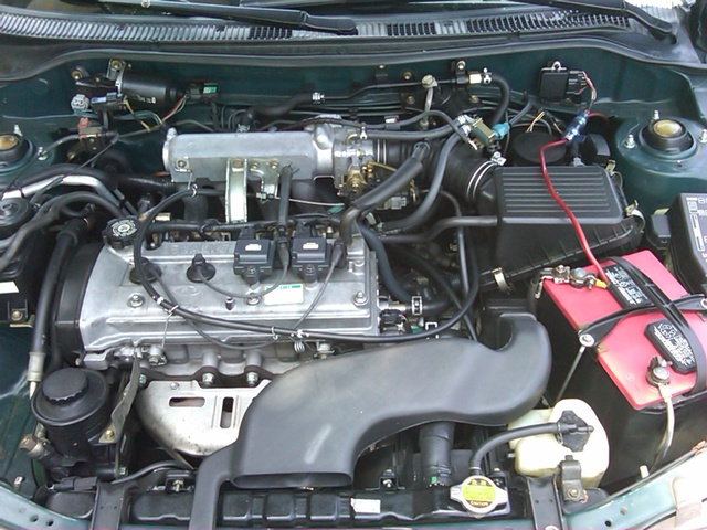 Picture of 1997 Toyota Tercel 4 Dr CE Sedan, engine, gallery_worthy