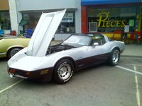 1982 Chevrolet Corvette Coupe, 1982 Chevrolet Corvette Base picture, exterior, engine