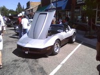 1982 Chevrolet Corvette Coupe, 1982 Chevrolet Corvette Base picture, engine, exterior