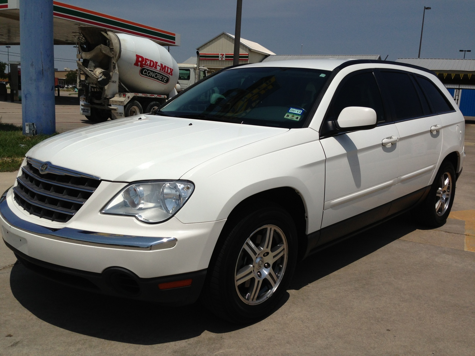 picture of 2007 chrysler pacifica 4 dr touring s package. Cars Review. Best American Auto & Cars Review