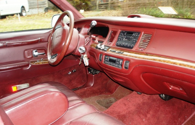 1996 Lincoln Town Car Interior Pictures Cargurus