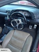 1989 Holden Commodore, Some lather seats ... Why not, cheap as., interior