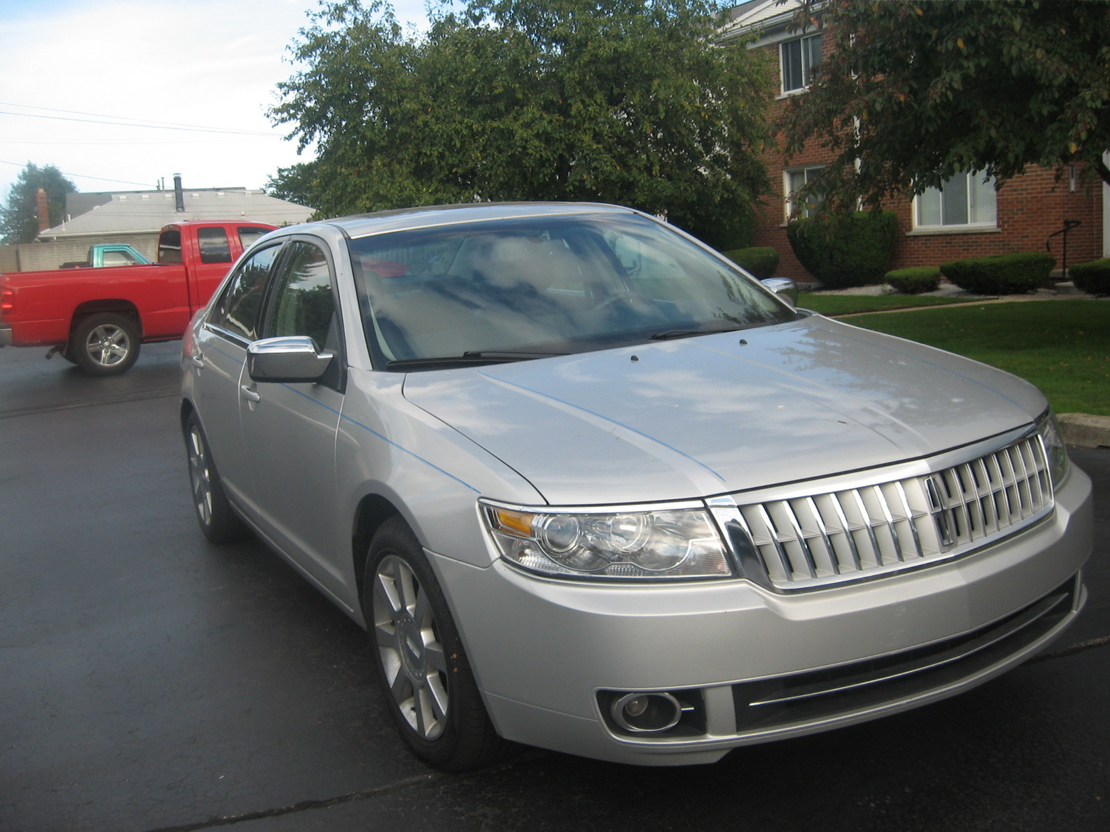 2009 lincoln mkz related infomation specifications weili automotive network. Black Bedroom Furniture Sets. Home Design Ideas