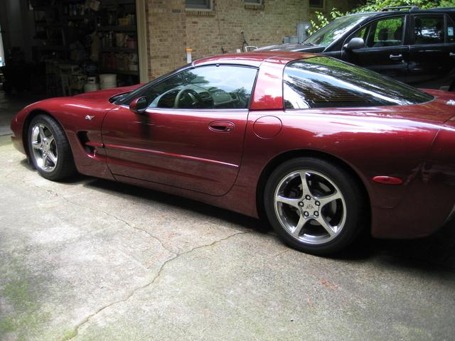 Picture of 2003 Chevrolet Corvette Coupe, exterior