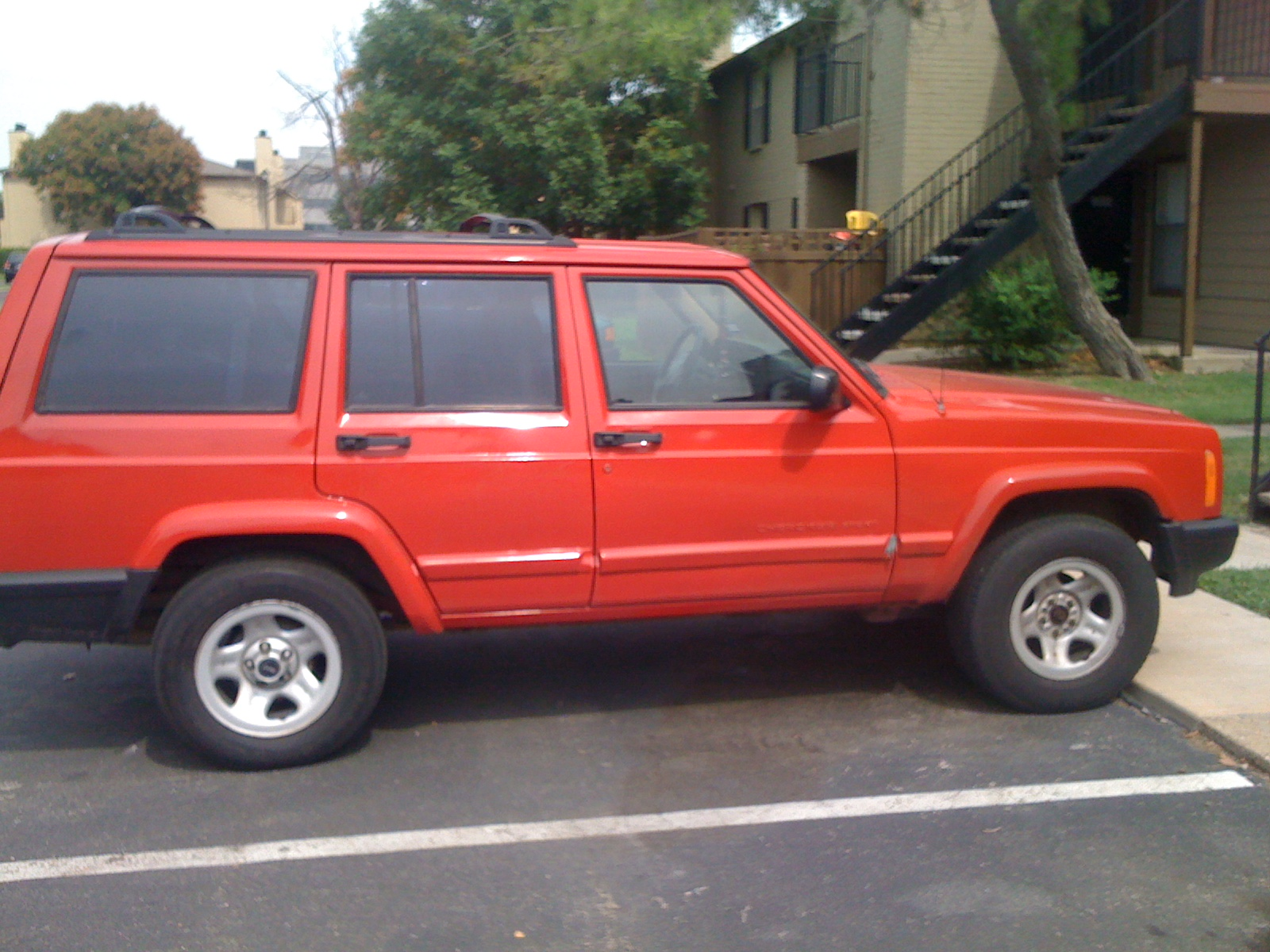 picture of 2001 jeep cherokee 4 dr sport exterior. Cars Review. Best American Auto & Cars Review