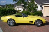 1969 Chevrolet Corvette Convertible, Side View, exterior, gallery_worthy