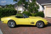 1969 Chevrolet Corvette Convertible, Side View, exterior
