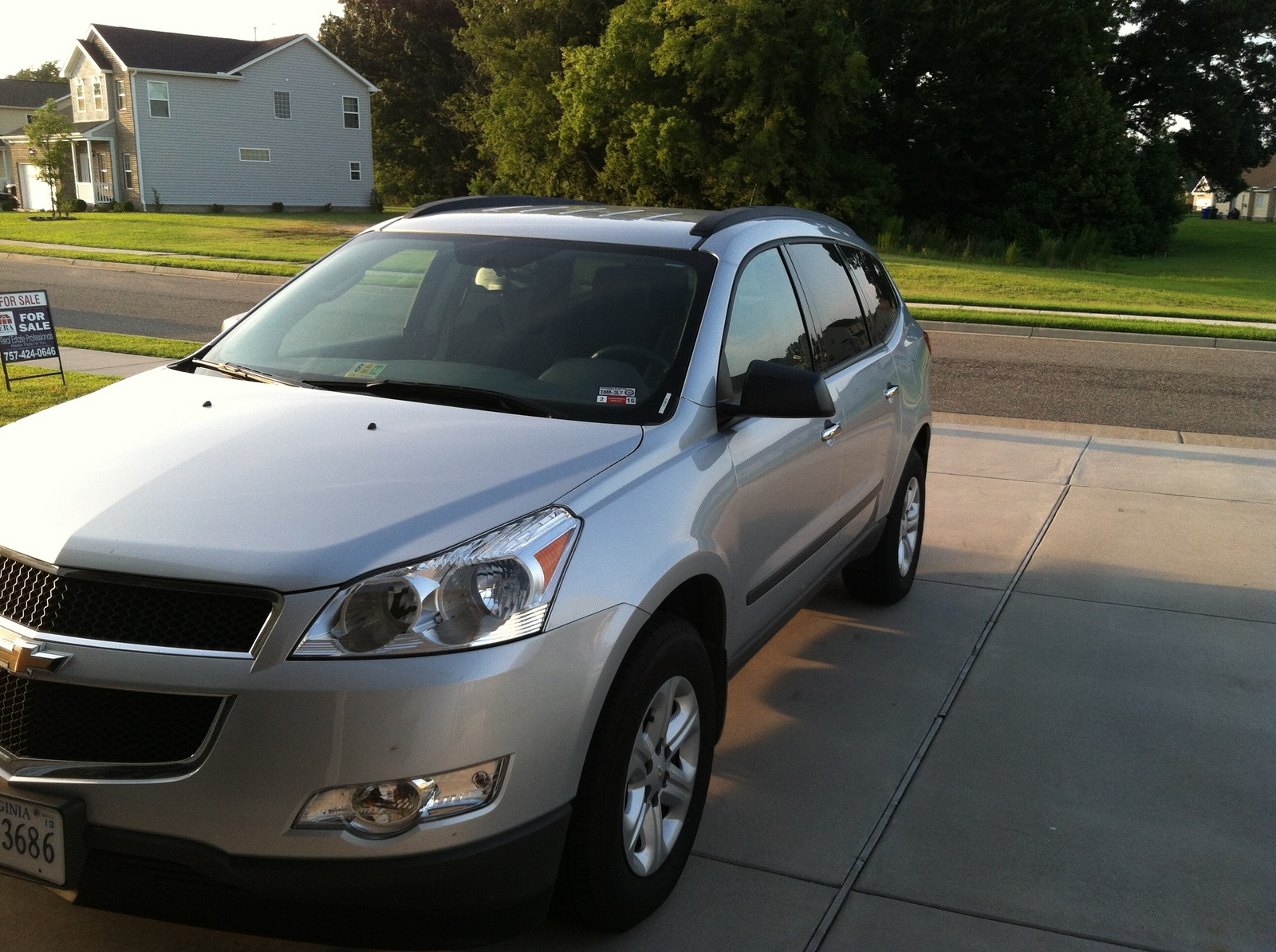 picture of 2012 chevrolet traverse ls exterior. Cars Review. Best American Auto & Cars Review