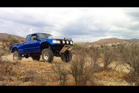 1994 Ford Ranger XL Extended Cab SB, the cookie monster, exterior