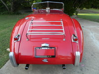 1954 Jaguar XK140, Luggage Rack for extra storage when traveling.