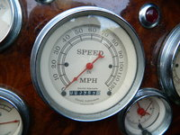 1954 Jaguar XK140, Very low millage and custom gauges and Dash wood dressing, interior