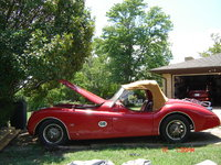 1954 Jaguar XK140, Manual canvas Top when needed and full passenger compartment cover., exterior, gallery_worthy