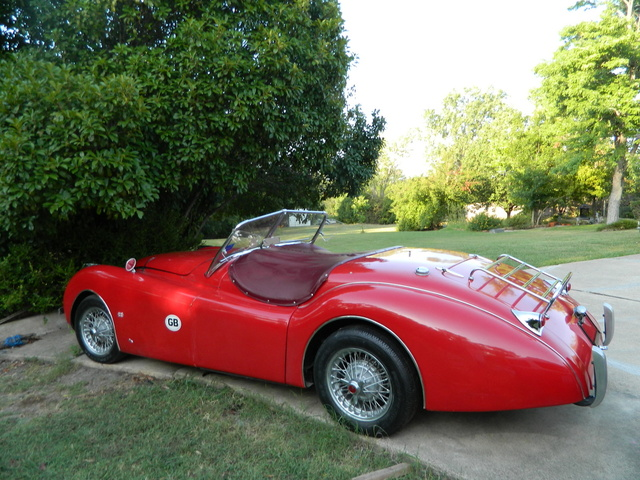 Picture of 1954 Jaguar XK140, exterior