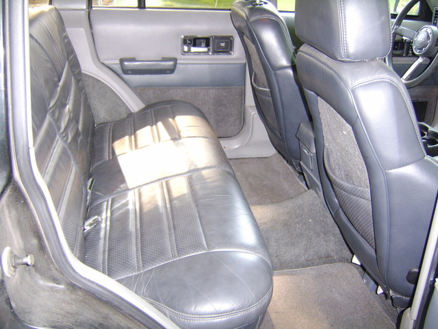 Picture Of 1990 Jeep Cherokee Limited 4 Door 4WD, Interior, Gallery_worthy