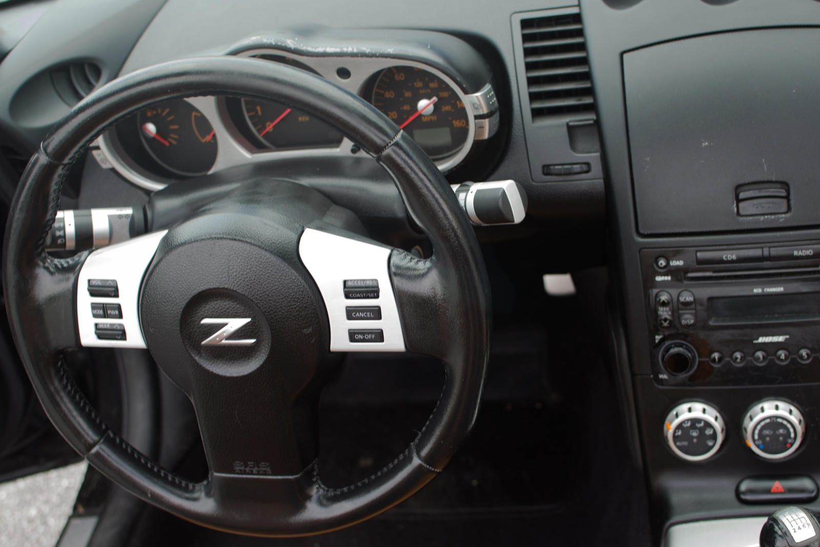 Sunny King Ford >> 2006 Nissan 350Z - Interior Pictures - CarGurus