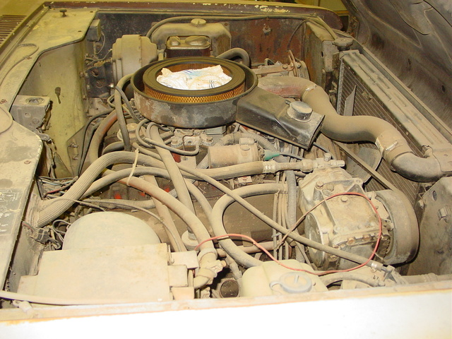 Picture of 1975 International Harvester Scout, engine