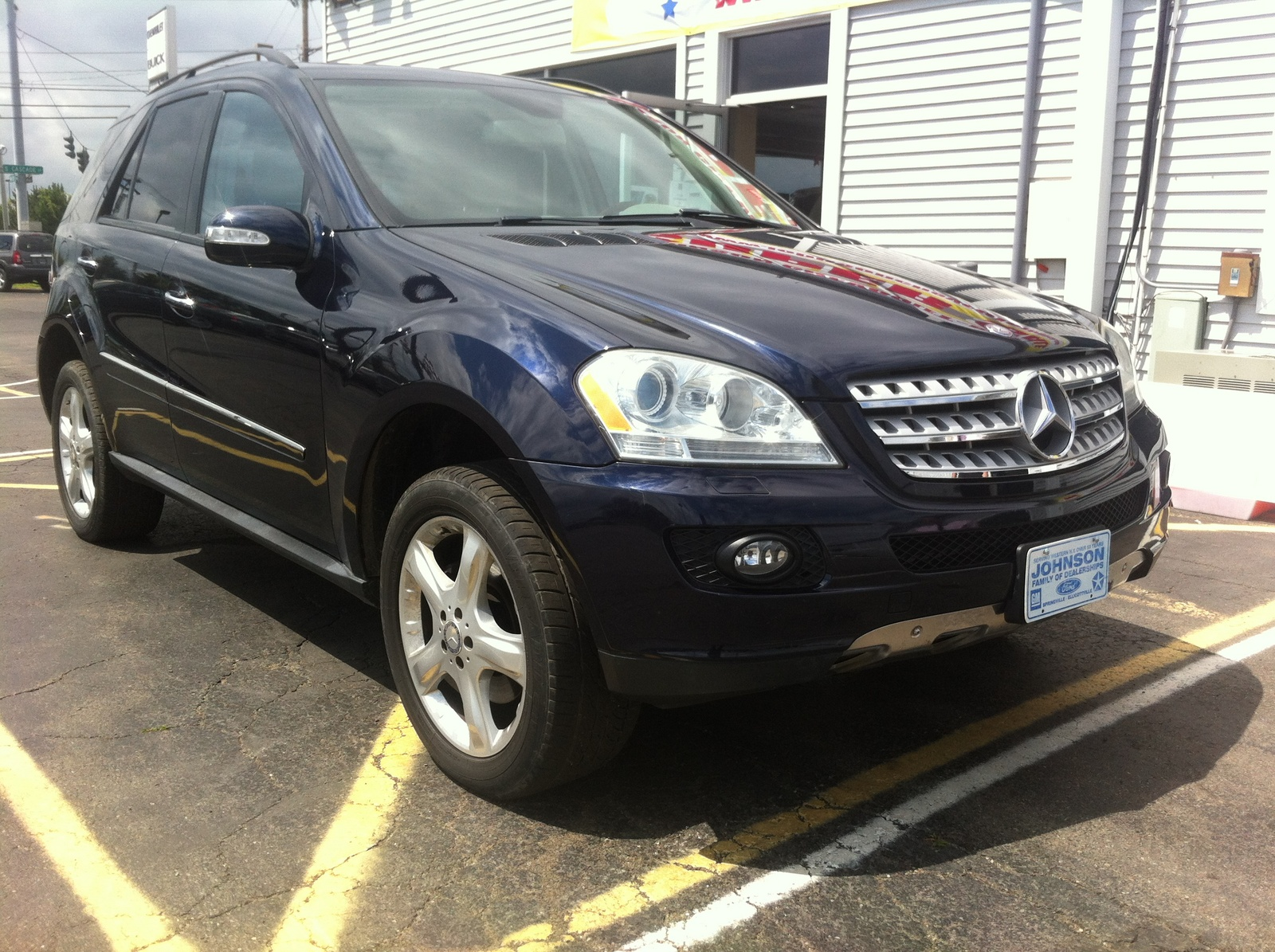 Picture of 2008 mercedes benz m class ml350 exterior for 2008 mercedes benz ml350